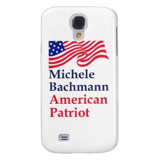 Patriota del americano de Micaela Bachmann Funda Para Galaxy S4