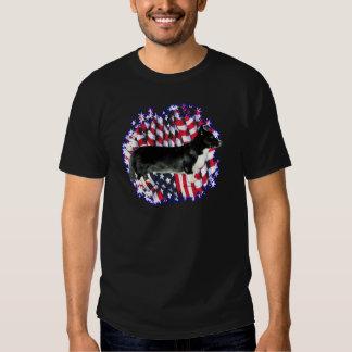 Patriota del Corgi Galés de la rebeca Camisas