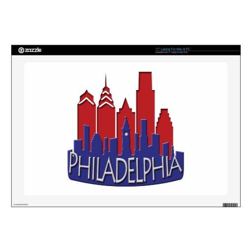 Patriota del newwave del horizonte de Philly 43,2cm Portátil Calcomanía