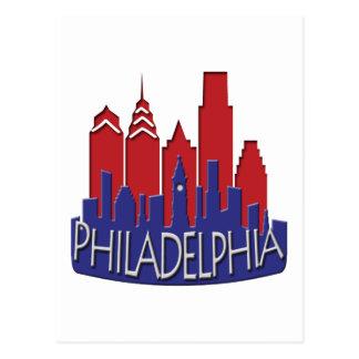 Patriota del newwave del horizonte de Philly Postal