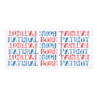 Patriota llevado natural tarjetas publicitarias personalizadas
