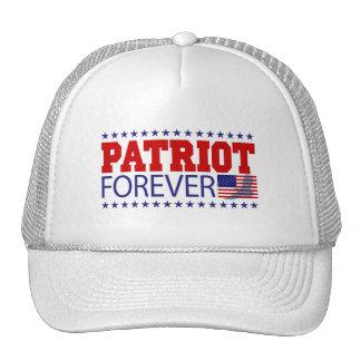Patriota para siempre gorro