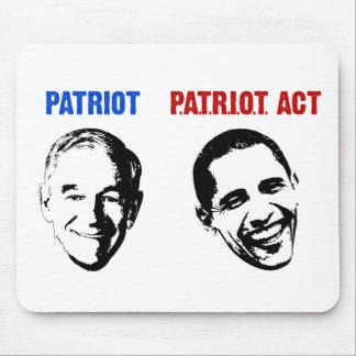 Patriota/Patriot Act Tapetes De Ratones