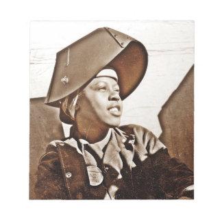 Patriotas afroamericanos de las mujeres libretas para notas
