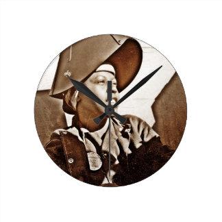 Patriotas afroamericanos de las mujeres relojes de pared