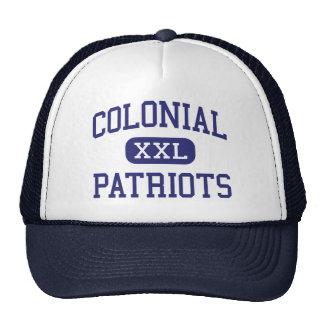 Patriotas coloniales Memphis media Tennessee Gorro De Camionero