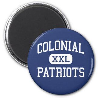 Patriotas coloniales Memphis media Tennessee Iman De Nevera