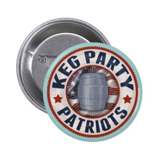 Patriotas del fiesta del barrilete II Pin
