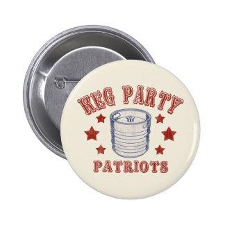 Patriotas del fiesta del barrilete pin