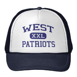 Patriotas del oeste Binghamton medio Nueva York Gorro