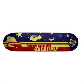 Patriotas desde 1985 tabla de skate
