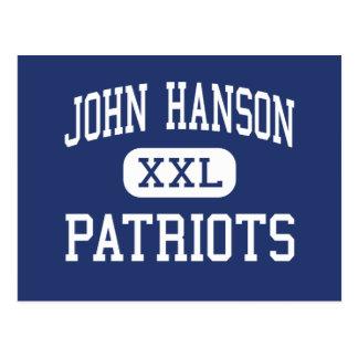 Patriotas Waldorf medio Maryland de Juan Hanson Tarjeta Postal