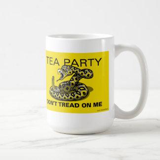 PatriotBites TEA PARTY Diamondback Mug