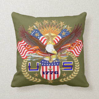 Patriotic 1 Color 2 Designs Front Back All Styles Pillow