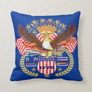 Patriotic 2 Color 2 Designs Front Back All Styles Pillow