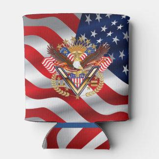 Patriotic 2 Same Designs Can Cooler