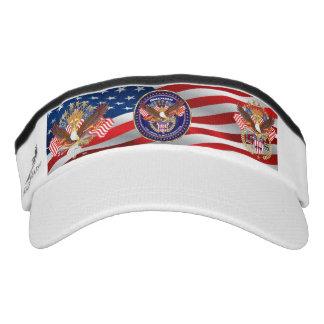 Patriotic 3 Designs pick your style Headsweats Visor