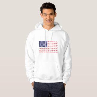 Patriotic 4-Wheeling Hoodie