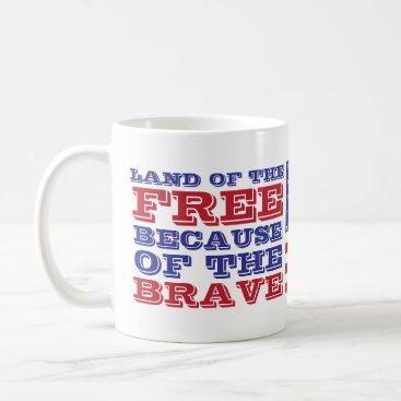 Patriotic 4th of July America Freedom Coffee Mug