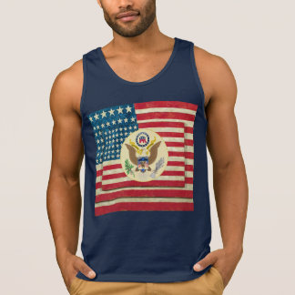 Patriotic 4th of July Flag T-Shirt