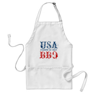Patriotic 4th of July party BBQ aprons | USA 1776 Apron