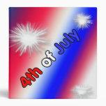 Patriotic 4th of July Photo Album Binder