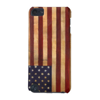Patriotic Aged American Flag iPod Touch (5th Generation) Case
