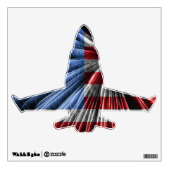 Patriotic Aircraft Room Graphics