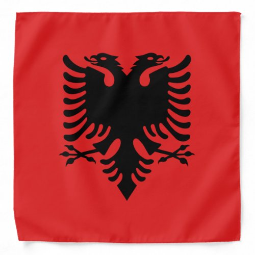 Patriotic Albanian Flag Bandana