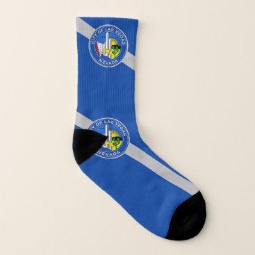Patriotic All Over Print Socks Flag of Las Vegas
