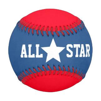 Patriotic All Star Signature Baseball