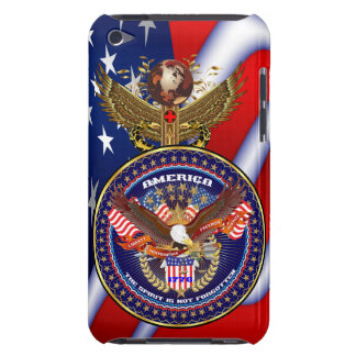 Patriotic All Styles  Please View Artist Comments Barely There iPod Case