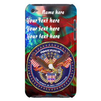 Patriotic All Styles  Please View Artist Comments Barely There iPod Cover