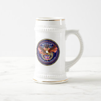 Patriotic All Styles  Please View Artist Comments Beer Stein