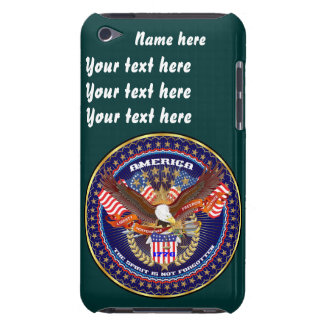 Patriotic All Styles Please View Artist Comments Barely There iPod Covers