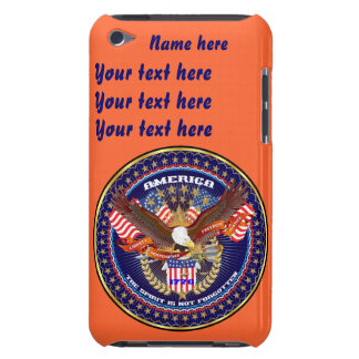 Patriotic All Styles Please View Artist Comments iPod Touch Cover
