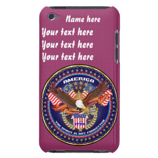 Patriotic All Styles  Please View Artist Comments Case-Mate iPod Touch Case