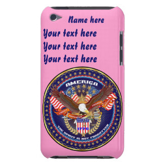 Patriotic All Styles  Please View Artist Comments iPod Touch Case