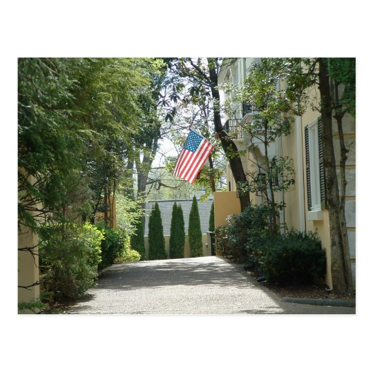 Patriotic Alley Postcard