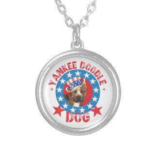 Patriotic Am Staff Necklaces