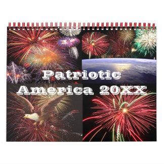 Patriotic America 20XX Calendar