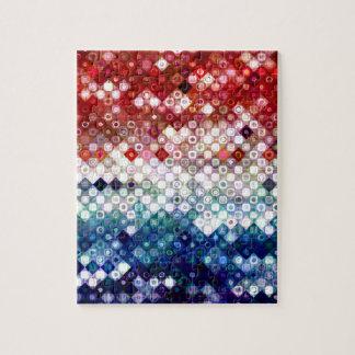 Patriotic America Collage Jigsaw Puzzle