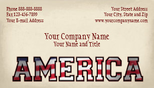 Non profit business cards zazzle patriotic america government non profit business business card colourmoves