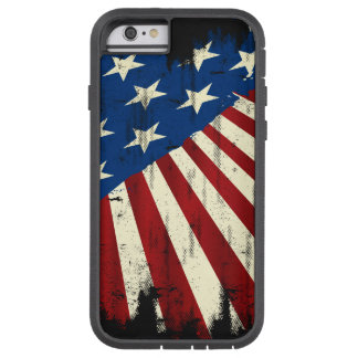 Patriotic America Grunge Flag Tough Xtreme iPhone 6 Case
