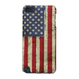 Patriotic  America Grunge Flag iPod Touch Case