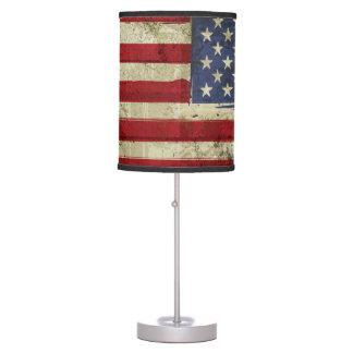 Patriotic America Grunge Flag Pendnt Lamp