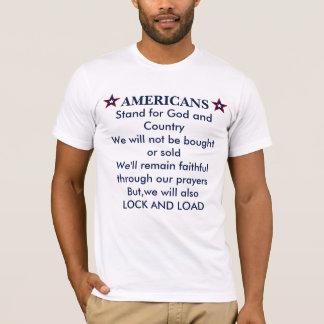 PATRIOTIC AMERICA LOCK AND LOAD T-Shirt