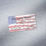 Patriotic American Business Magnets