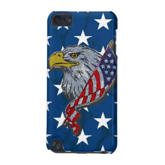 Patriotic American Eagle and Flag iPod Touch 5G Cover