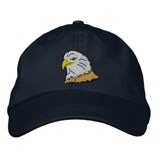 Patriotic American Eagle Cap Embroidered Baseball Cap